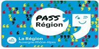 Image du pass région Auvergne Rhône-Alpes